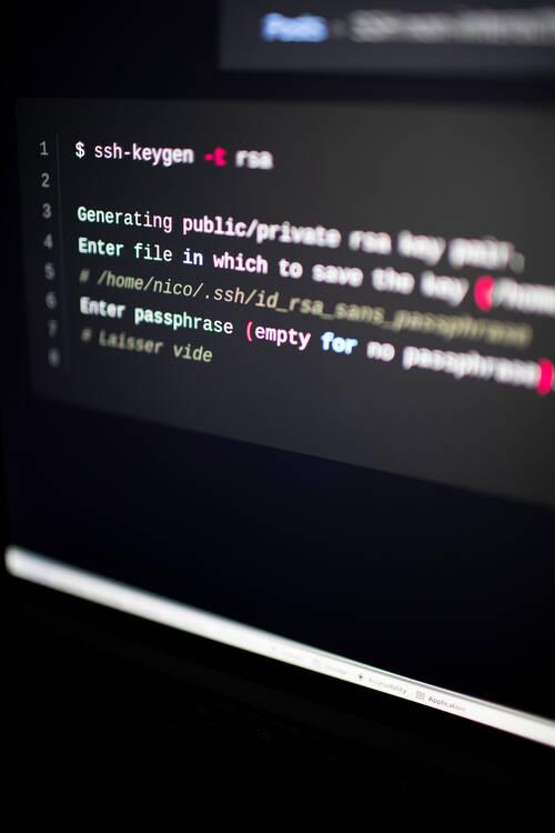 Un écran sous Ubuntu uavec un terminal ouvert